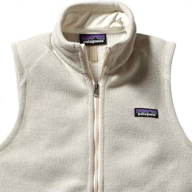 Patagonia Women S Better Sweater Fleece Vest Raw Linen