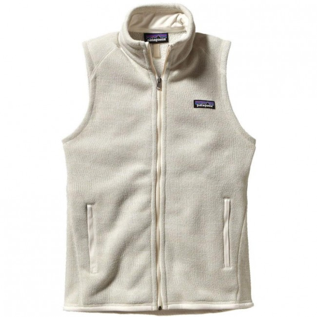 Patagonia Women S Better Sweater Fleece Vest Raw Linen