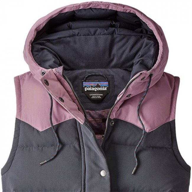 ee90fd26998 Patagonia Women s Bivy Down Hooded Vest - Smolder Blue - Cleanline Surf