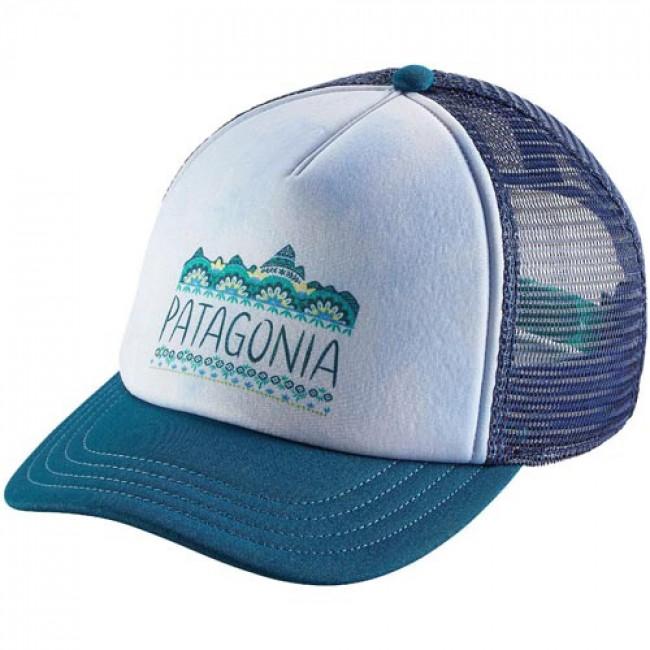 Patagonia Women s Femme Fitz Roy Interstate Trucker Hat - Big Sur Blue -  Cleanline Surf 998ba8e4c3b2