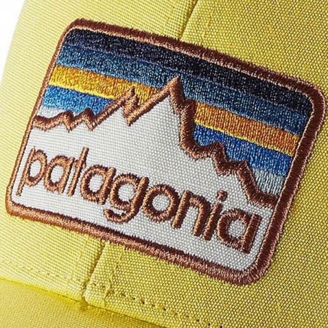 Patagonia Line Logo Badge LoPro Trucker Hat - Yoke Yellow ... 40f756480f6