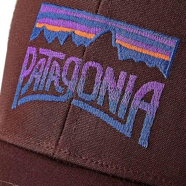 3117c0ab9e4 Patagonia Fitz Roy Frostbite Trucker Hat - Dark Ruby - Cleanline Surf