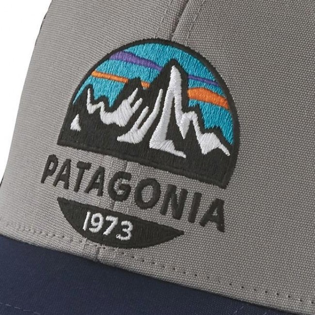 Patagonia Fitz Roy Scope LoPro Trucker Hat - Drifter Grey ... 8ae207f4572