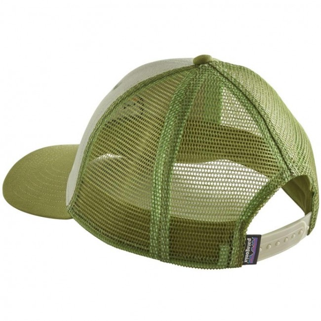 f39a7a24 Patagonia Fitz Roy Scope LoPro Trucker Hat - Desert Sage - Cleanline ...