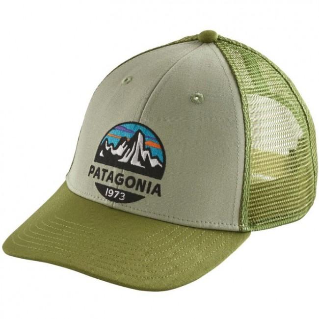 Patagonia Fitz Roy Scope LoPro Trucker Hat - Desert Sage - Cleanline Surf 27764ed81d3