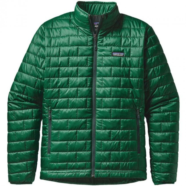 Green patagonia jacket mens