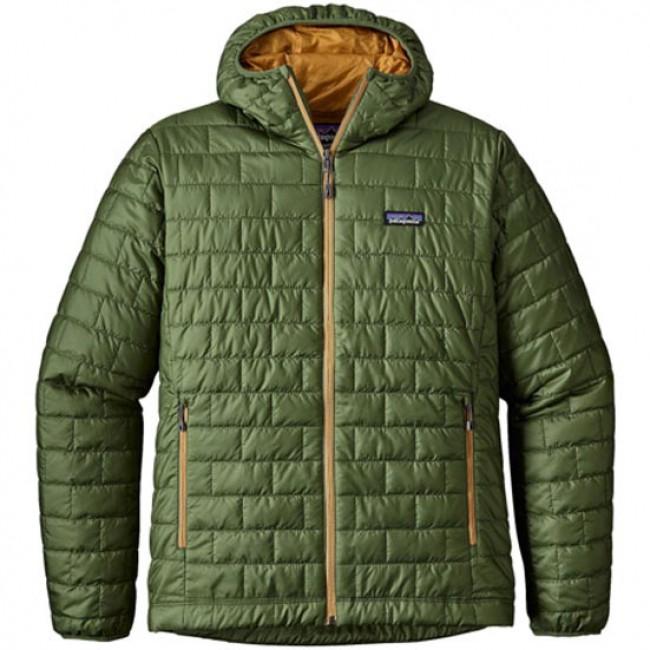 Patagonia Nano Puff Hoody Jacket Buffalo Green