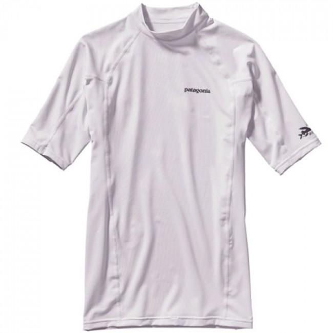 Patagonia Wetsuits R0 Short Sleeve Rash Guard White