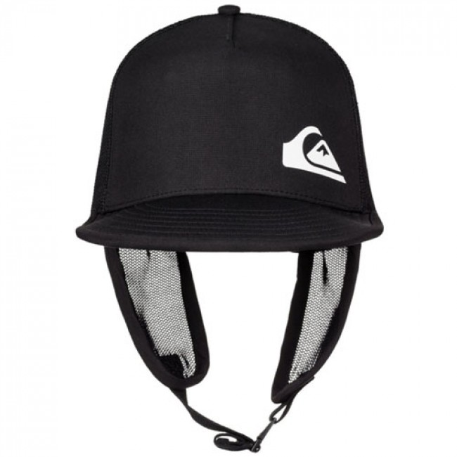Quiksilver Trim Shader Surf Bucket Hat - Black - Cleanline Surf aaf083fcd1f5