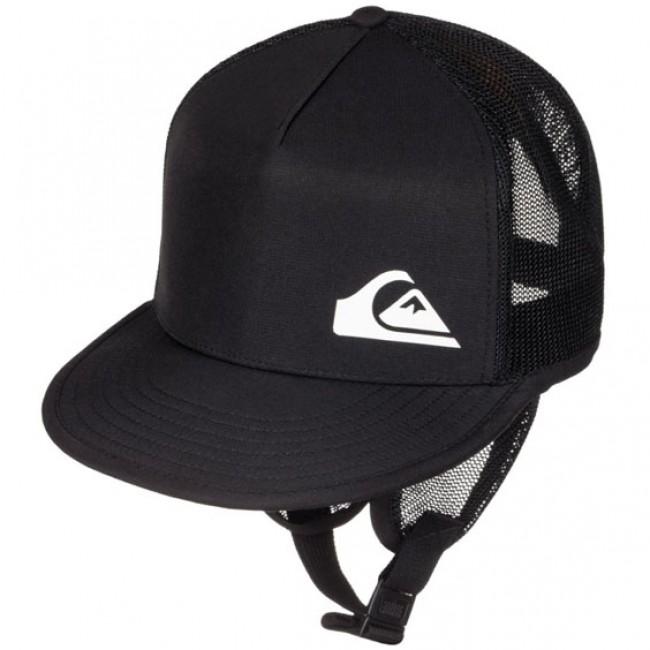 73065317c8c01 Quiksilver Trim Shader Surf Bucket Hat - Black - Cleanline Surf