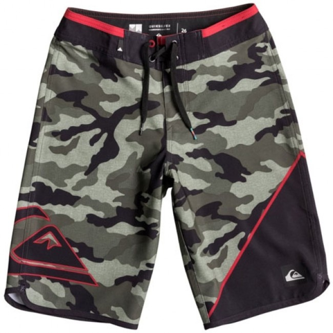 bf2e884797 Quiksilver Youth New Wave Everyday Boardshorts - Forest Night - Cleanline  Surf