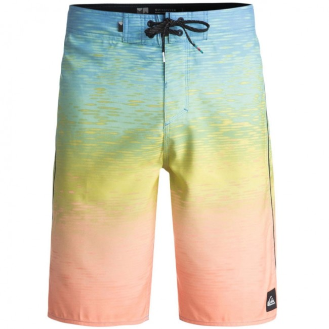 e529fdb494 Quiksilver Momentum Fader Boardshorts - Silver Lake Blue - Cleanline Surf