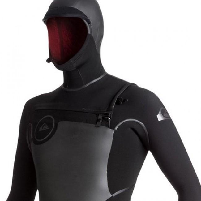 3e0c745d25 Quiksilver Syncro Plus 5/4/3 Hooded Chest Zip Wetsuit - 2018
