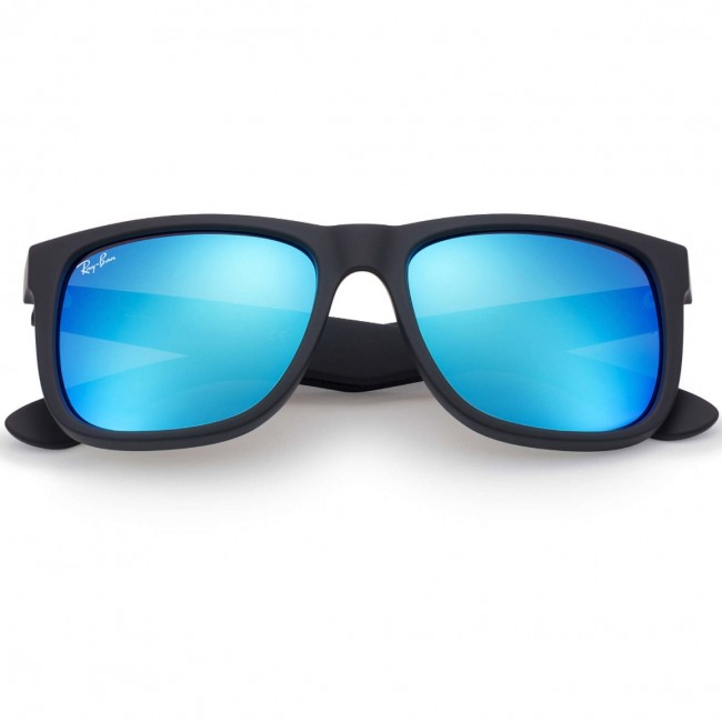 d15230b92d promo code ray ban rb4165 justin sunglasses rubberised black orange flash 4  ad02a f1bc4  promo code ray ban justin sunglasses black blue mirror 20bd3  fe66a