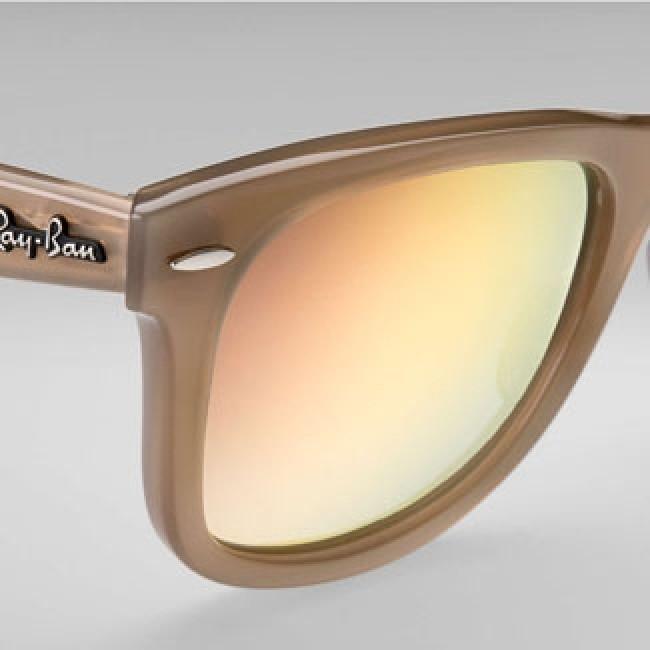 0f7f75e7f4f ... norway ray ban wayfarer ease sunglasses beige grey gradient brown mirror  d5503 e26e2