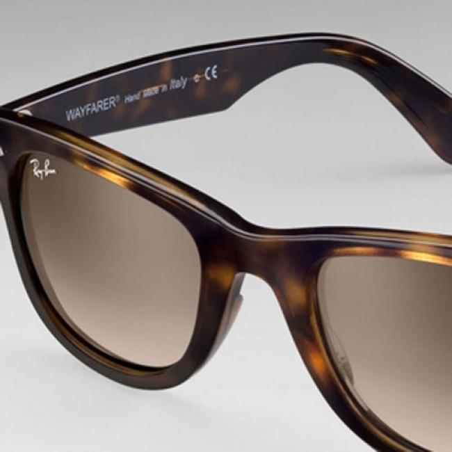 fe57922789e Ray-Ban Wayfarer Ease Sunglasses - Tortoise Light Brown Gradient -  Cleanline Surf