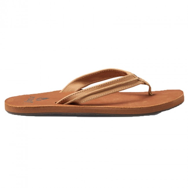 Wonderful Reef Womenu0026#39;s Girl Slap 3 Sandal Brown/Bronze - 6