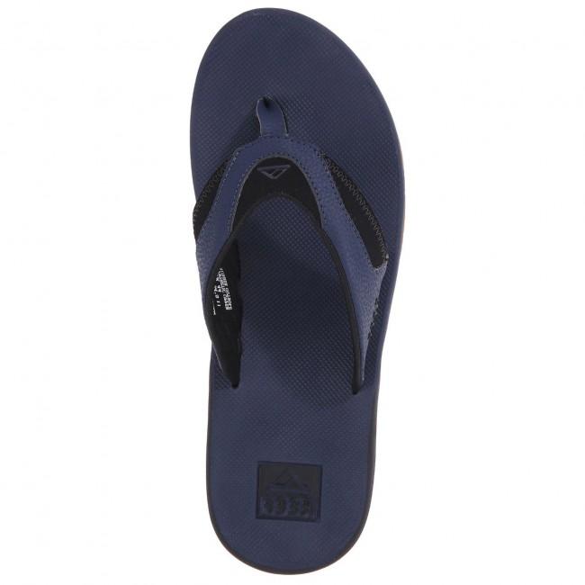 8636dca34f955 Reef Fanning Sandals - Navy Gum - Cleanline Surf
