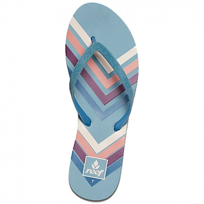 62954e14f1b4 Reef Women s Stargazer Prints Sandals - Blue Chevron - Cleanline Surf