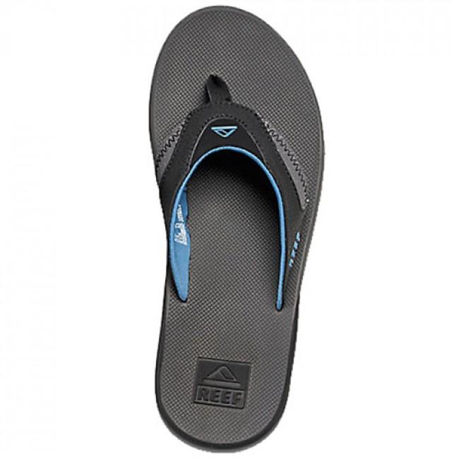 7125f133b67e5 Reef Fanning Sandals - Grey Light Blue - Cleanline Surf
