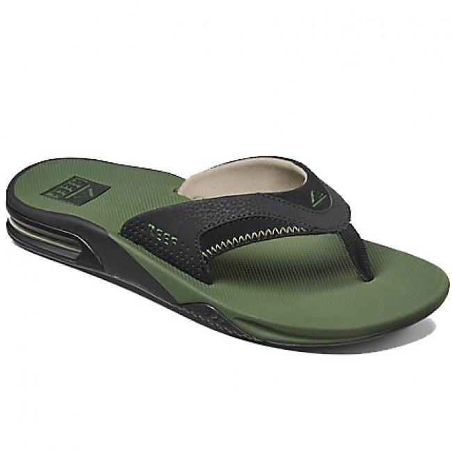 862d24a183d Reef Fanning Sandals - Olive Black - Cleanline Surf