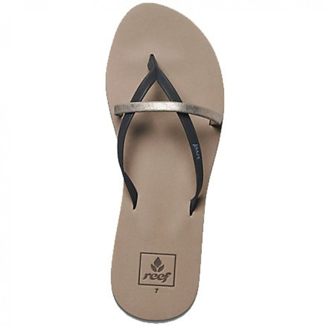 aeec0cdcd2e1e Reef Women's Bliss Wild Sandals - Pewter - Cleanline Surf