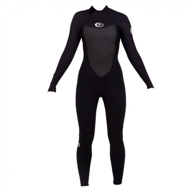 Rip Curl Women s Omega 3 2 Flatlock Back Zip Wetsuit - Cleanline Surf d46e159253