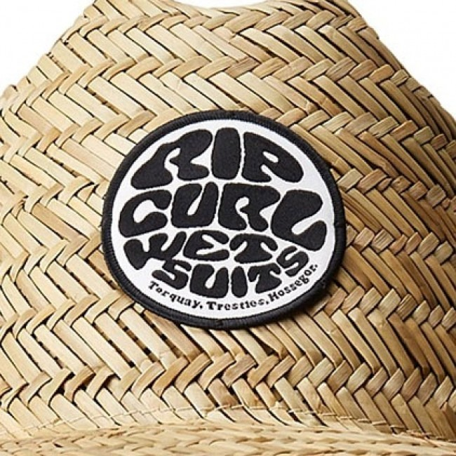 5fd17a48 Rip Curl Baywatch Straw Hat - Natural - Cleanline Surf