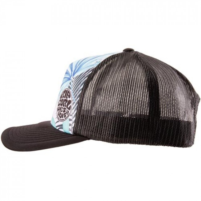 504d4f21f66 Rip Curl Women s Search Vibes Trucker Hat - Black - Cleanline Surf