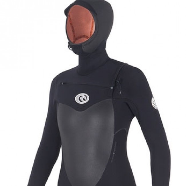 Rip Curl Women s Flash Bomb 5 4 Hooded Wetsuit - 2016 - Cleanline Surf 3bff9ace31