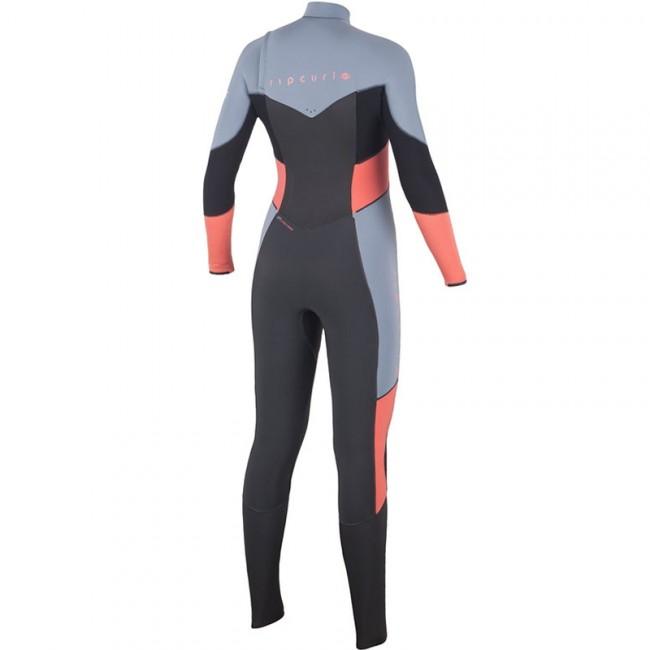025de08c94 Rip Curl Women's Flash Bomb 4/3 Chest Zip Wetsuit - 2016