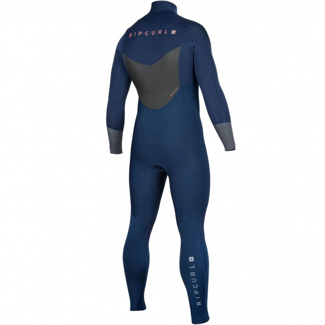 2726831614 Rip Curl Dawn Patrol 4 3 Chest Zip Wetsuit - Cleanline Surf