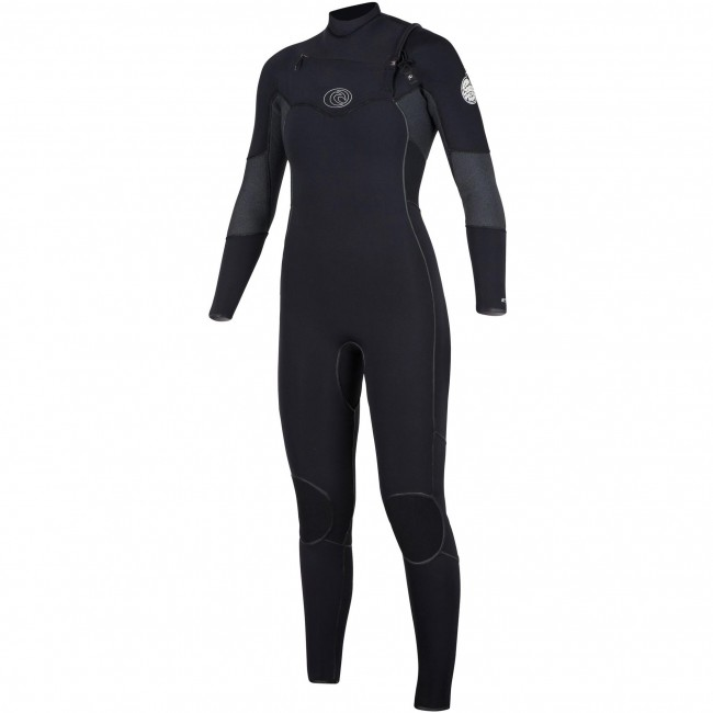 Rip Curl Women s Flash Bomb 4 3 Chest Zip Wetsuit Taped - Spring ... 8602045f32