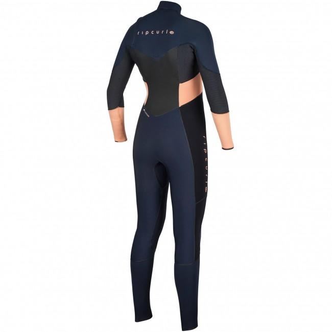 Rip Curl Women s Flash Bomb 3 2 Chest Zip Wetsuit - Cleanline Surf 101c2078fd