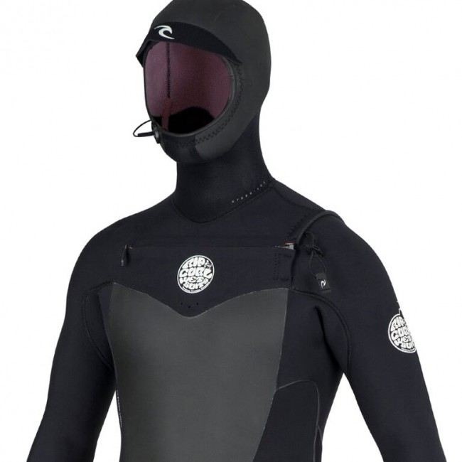 Rip Curl Flash Bomb 5 4 Hooded Chest Zip Wetsuit - Cleanline Surf 05f911e6c