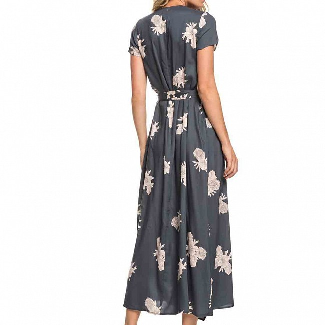 9ae82bdb7a6d Roxy Women s District Day Dress - Turbulence Rose and Pearls ...