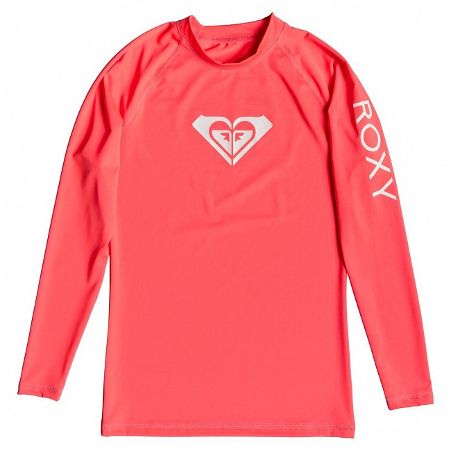 Roxy Womens Whole Hearted Long Sleeve Rash Guard