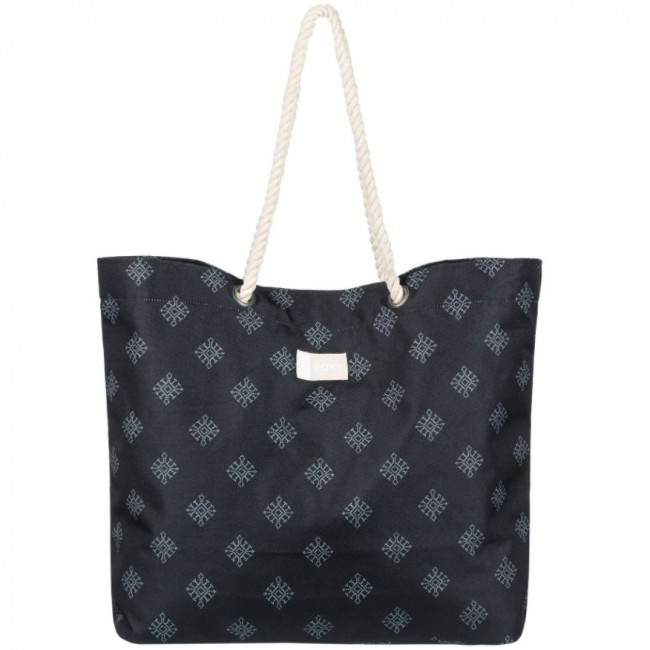 Roxy Women S Tropical Vibe Tote Bag Anthracite Pearly