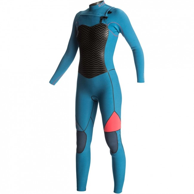 18a83a3923 Roxy Women s Performance 4 3 Chest Zip Wetsuit - 2016 - Cleanline Surf