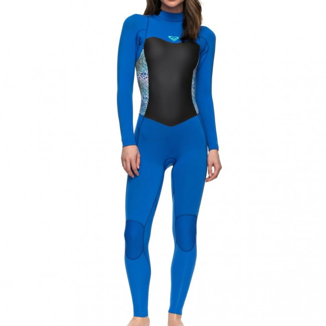 Roxy Women s Syncro 3 2 Back Zip Wetsuit - Cleanline Surf b640336f9