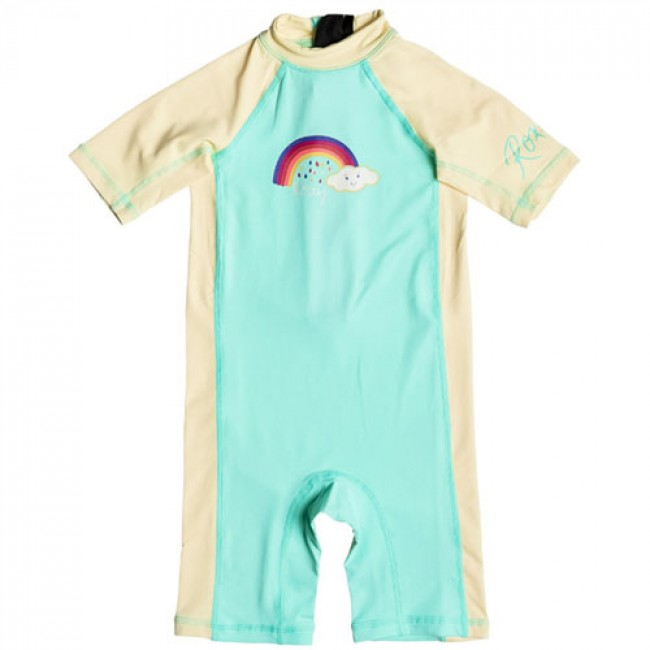 a5f58b2bd7 Roxy Wetsuits Toddler So Sandy Spring Suit - Beach Glass - Cleanline ...