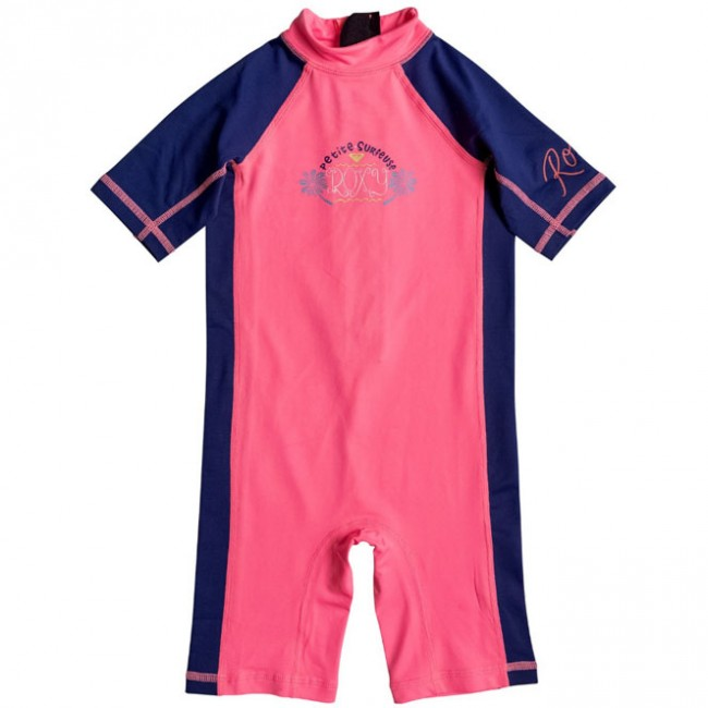 53afd64bb9 Roxy Wetsuits Toddler So Sandy Spring Suit - Neon Grapefruit - Cleanline  Surf