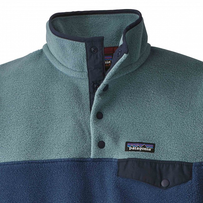 54d88d5183 Patagonia Women s Lightweight Synchilla Snap-T Fleece Pullover - Stone Blue