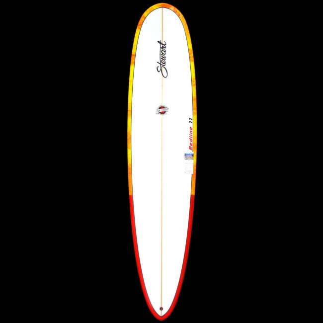 stewart surfboards 9 0 redline 11 surfboard yellow red