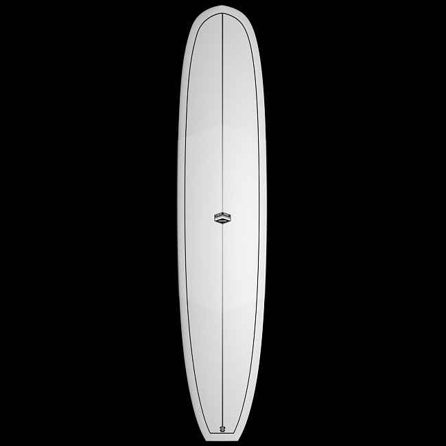 f544937af5bf CJ Nelson Designs The Sprout Thunderbolt Surfboard - White - Deck