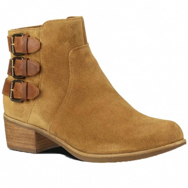 7a0981ba51a34 UGG Australia Volta Suede Boots - Chestnut