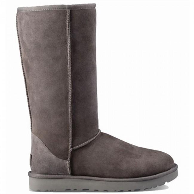 UGG Australia Classic II Tall Boots - Grey