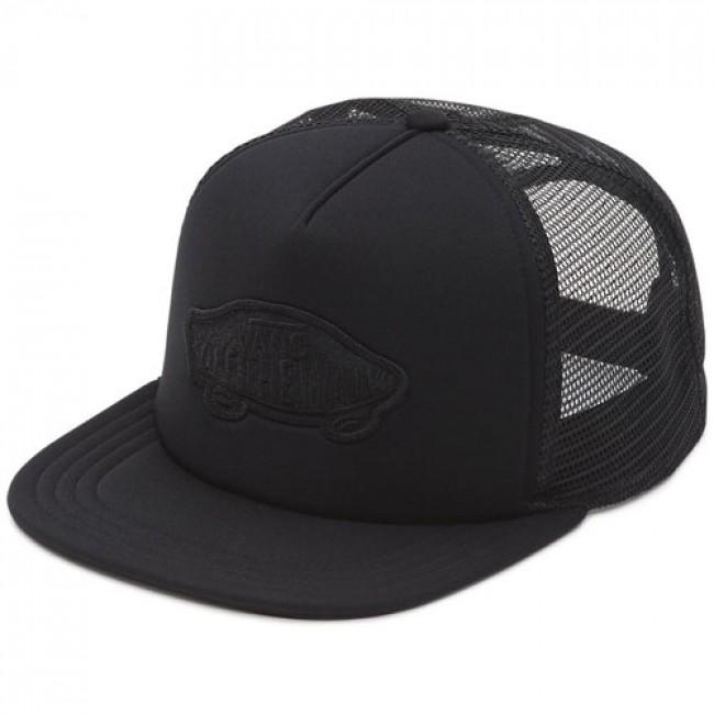 Vans Classic Patch Trucker Hat - Black - Cleanline Surf e79a8ceb86a
