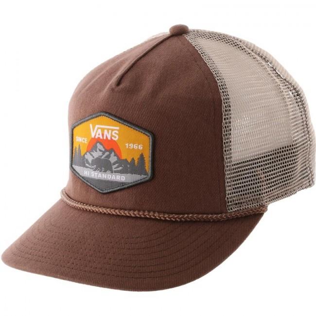 5019a99d Vans Wirth Trucker Hat - Toffee - Cleanline Surf