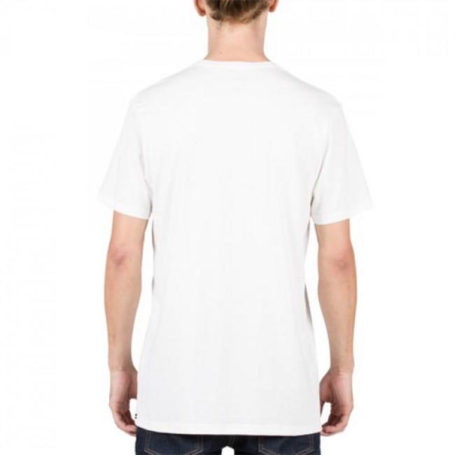 Volcom hand geo t shirt white cleanline surf for How to hand wash white shirt